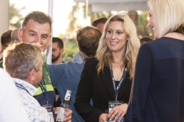Networking function at Money In Sport Conference