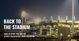 Back to the Stadium - Money In Sport
