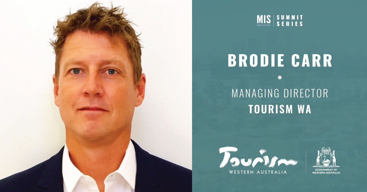 Brodie Carr - Managing Director at Tourism WA