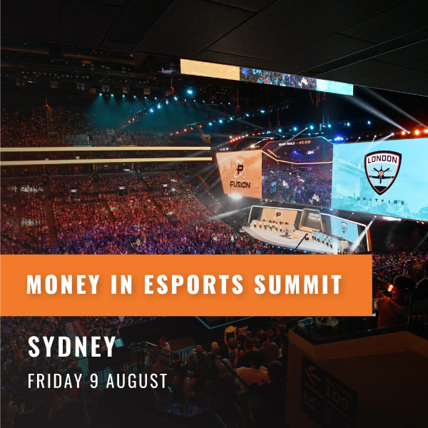 Money In Esports Summit - Sydney 9 August